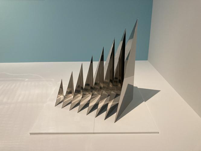Bild: Heinz Mack. Entwurf für eine Lichtpyramide