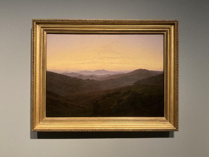 Bild: Caspar David Friedrich. Das Riesengebirge