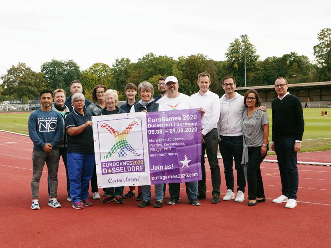 Bild: EGLSF-Delegation in Düsseldorf