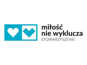 Logo: Stowarzyszenie Miłość Nie Wyklucza