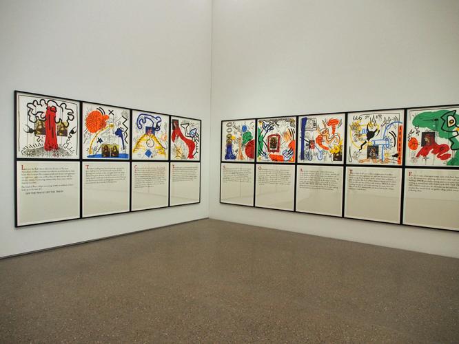 Bild: Apocalypse von Keith Haring