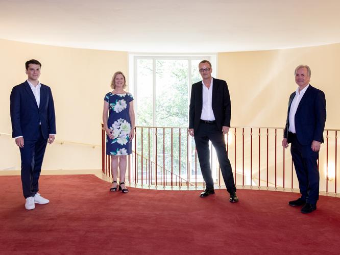 Bild: Demis Volpi, Alexandra Stampler-Brown, Christoph Meyer, Axel Kober