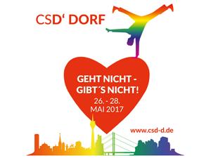 Bild: CSD Düsseldorf – Geht nicht - gibt's nicht