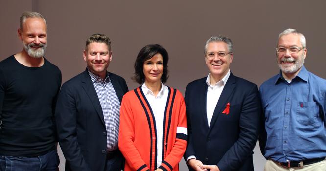 Bild: Tobias Grewe, Sebastian Welke, Dr. Dorothee Achenbach, Dr. Andreas Pelzer, Harald Schüll