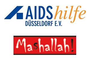 Logo: Aidshilfe Düsseldorf / Projekt Mashallah