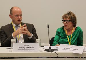 Georg Behrens und Annette Haberl (DAIG)
