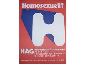 Bild: Plakat für HAG Bochum