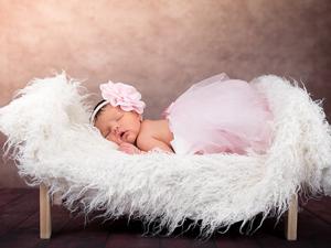 Bild: Schlafendes Baby