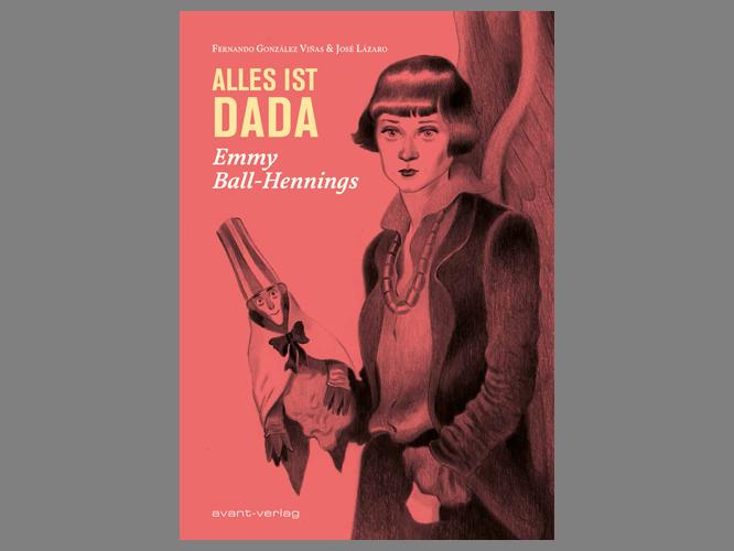 """Bild: Buchcover """"Alles ist dada"""""""