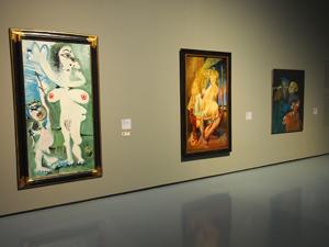 Bild: Gemälde von Pablo Picasso, Otto Dix und Paul Wunderlich