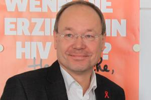Bild: Peter von der Forst, Geschäftsführer der AIDS-Hilfe Düsseldorf