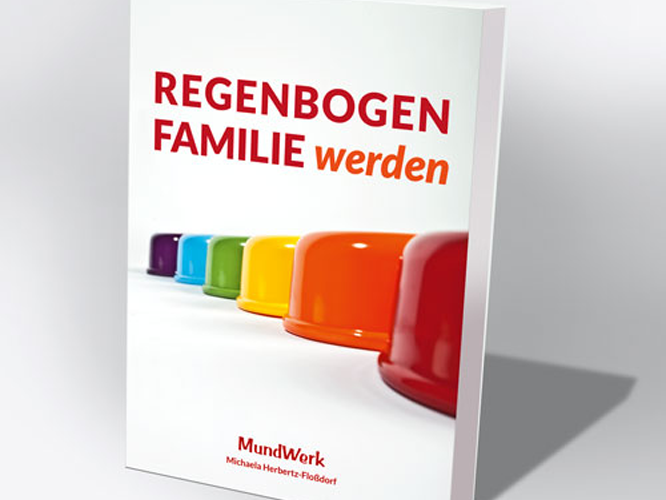 Bild: Buchcover Regenbogenfamilie werden
