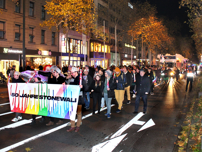 Bilds: Winterpride-Parade 2019