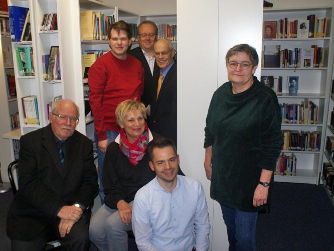 Bild: Vorstand AKK und Team LUSBD