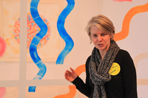 Bild: Kuratorin Susanne Meyer-Büser