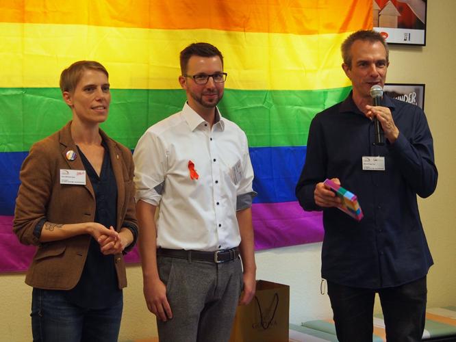 Bild: Inka Wilhelm, Falk Adam und Bernd Plöger