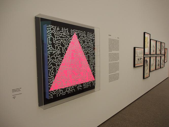 Bild: Kunstwerk von Keith Haring