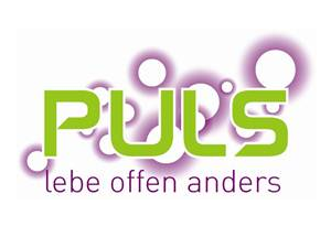 Logo: PULS - lebe offen anders