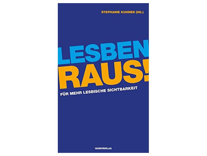 """Bild: Buchcover """"Lesben raus! Für mehr lesbische Sichtbarkeit"""""""