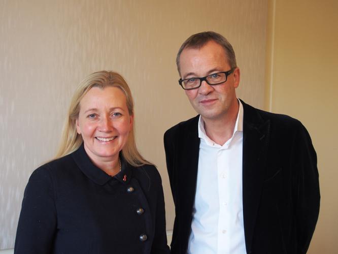 Bild: Dr. Kristel Degener und Prof. Christoph Meyer