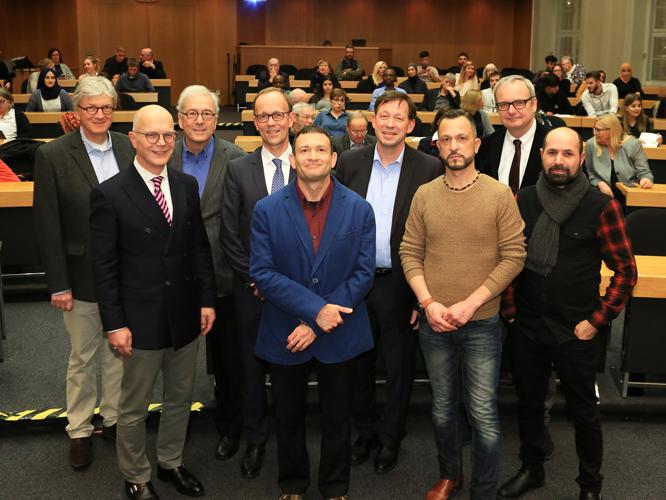 Bild: Verleihung des Integrationspreises 2018 - Sonderpreis an die Aidshilfe Düsseldorf e.V.