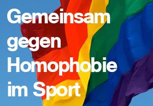 Gemeinsam gegen Homophobie im Sport