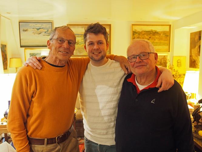 Bild: Toon van Irsel, Moritz Leick und Kurt Schultze