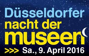 Logo: Düsseldorfer Nacht der Museen 2016
