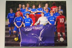 Bild: Lesbische Fußballmannschaft des SC Janus Köln