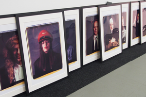 Bild: Porträtserien von Horst Wackerbarth