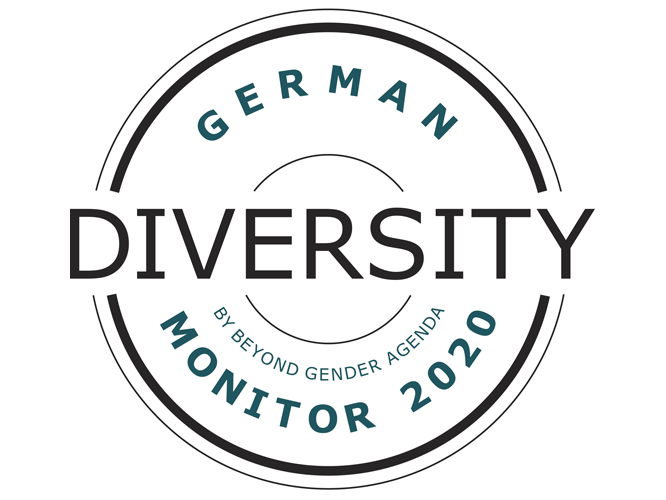 Logo: German Diversity Monitor 2020