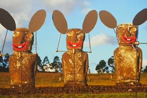 Bild: Easter Bunnies von Olaf Breuning