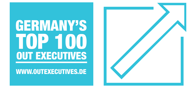 Logo: Germany's Top 100 Out Executives