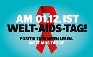 Bild: Am 01.12. ist Welt-AIDS-Tag!