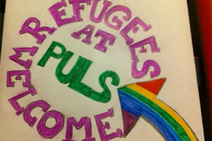 Bild: Refugees welcome at PULS