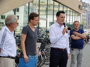 Bild: Hans Helten, Christian Naumann und Marko Siegesmund