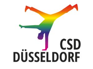 Logo: CSD Düsseldorf
