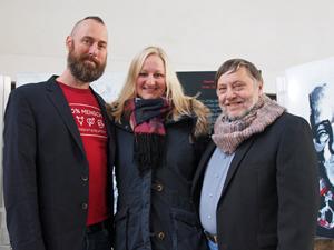 Bild: Holger Edmaier, Melanie Wenzelewski und Wolfgang Scheffler