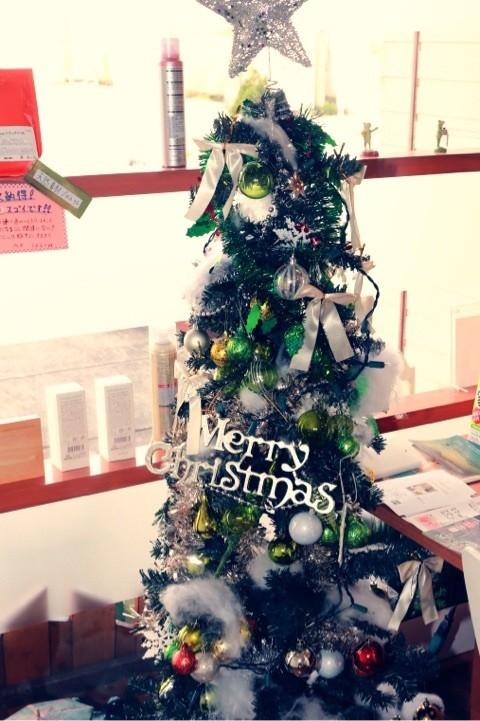 舞鶴 西舞鶴 美容院 美容院 プライベートサロン オーガニック クリスマスツリー