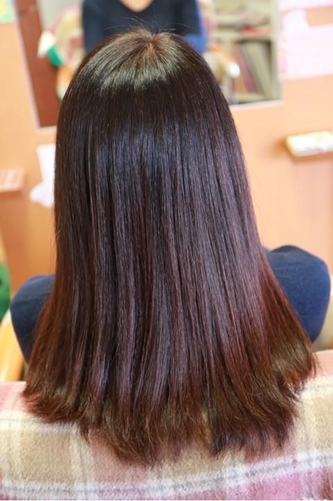 舞鶴 カラー きれい よく染まる 白髪 白髪染め さらさら サラサラ ツルツル