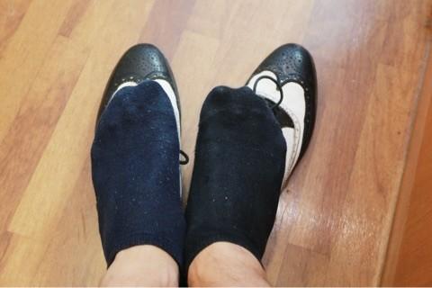 舞鶴 西舞鶴 靴下 色違い ショート