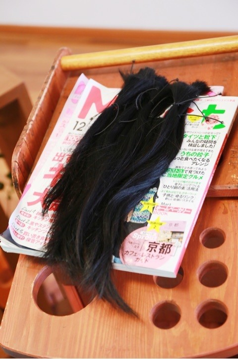ボランティア 切った髪 役に立つ ウィッグ かつら 医療かつら プライベートサロン プライバシー