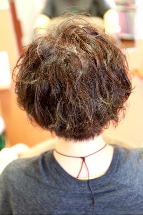 ハーブカラー 自然派 アルカリカラー 白髪染め 傷まない 髪 大切