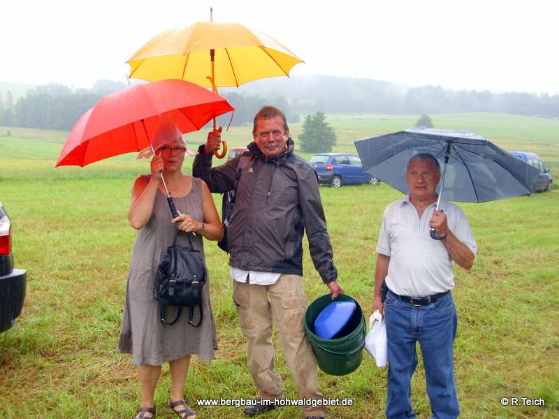 """Unser """"Samstagteam"""" : Margit Pehse, Burkhard Hultsch und Gunther Müller."""