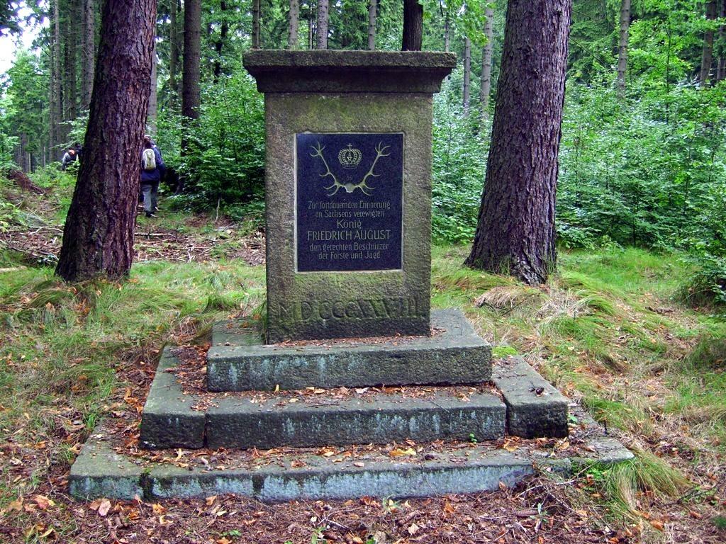Friedrich August Denkmal im Hohwald