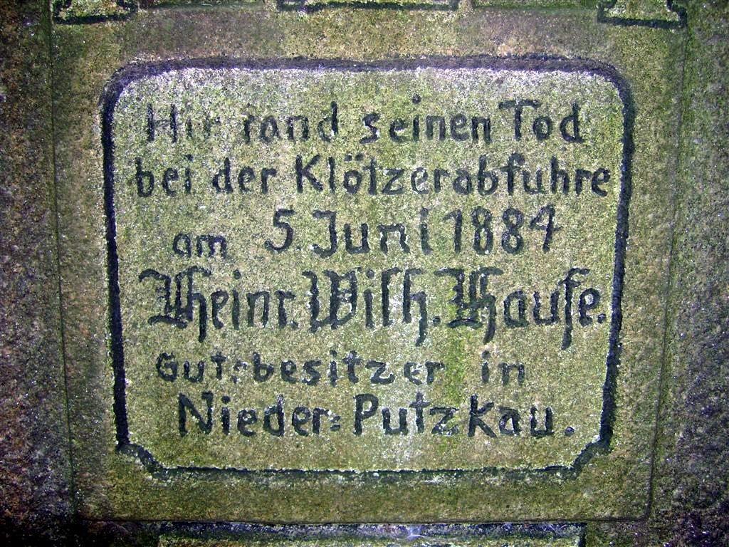 Obere Inschrift