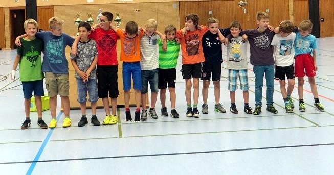 ... unserer Fußball-Schulmannschaft für eine grandiose Spielsaison mit dem Erreichen des Kreismeistertitels