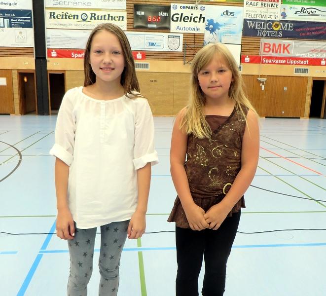 ... Violetta Schön und Marina Scholz zu einem 1. und 3. Platz beim Malwettbewerb der 3./4. Schuljahre