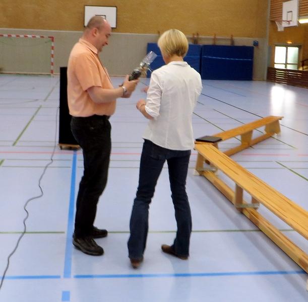 ... Herrn Kosfeld für sein Engagement in der Schach-AG