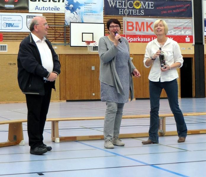 ... Herrn Diakon Althaus für 36 Jahre Seelsorge an der Lioba-Schule